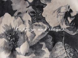 Tissu Deschemaker - Velours Mayence - Coloris: 3104 Ebène - Voir en grand