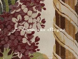 Tissu Tassinari & Châtel - Bordure Maurepas - réf: 1673.01 Ivoire ( détail ) - Voir en grand