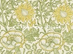 Tissu William Morris - Pink & Rose - réf: 222530 Cowslip/Fennel ( détail ) - Voir en grand