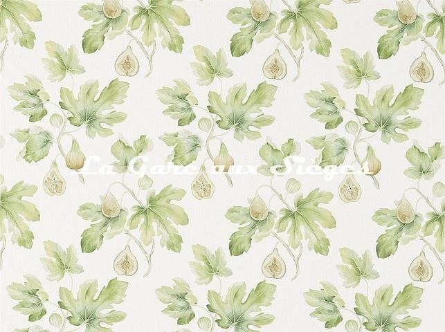 Tissu Sanderson - Fig Harvest - réf: 226329 Jardin vert - Voir en grand