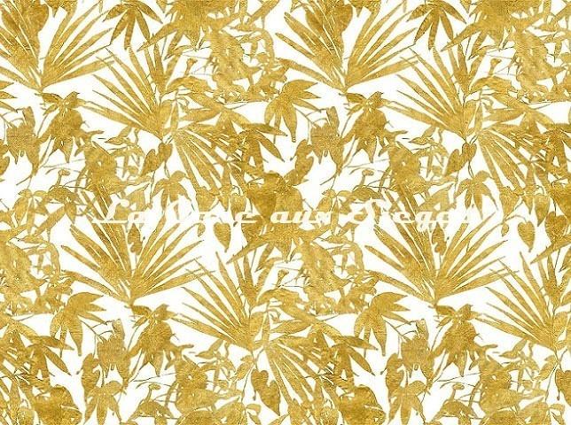 Tissu Rubelli - Home Jungle - réf: 30409.001 Oro - Voir en grand