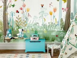 Papier peint Villa Nova - Busy Buzzy - Voir en grand