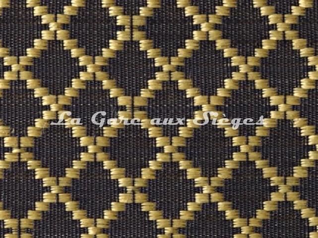 Tissu Le Crin - Nircel 344 - réf: C0344 - Coloris: 074 Noir/Or - Voir en grand