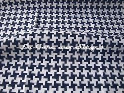 Tissu Dedar - Poulette - Coloris: 004 Marine - Voir en grand