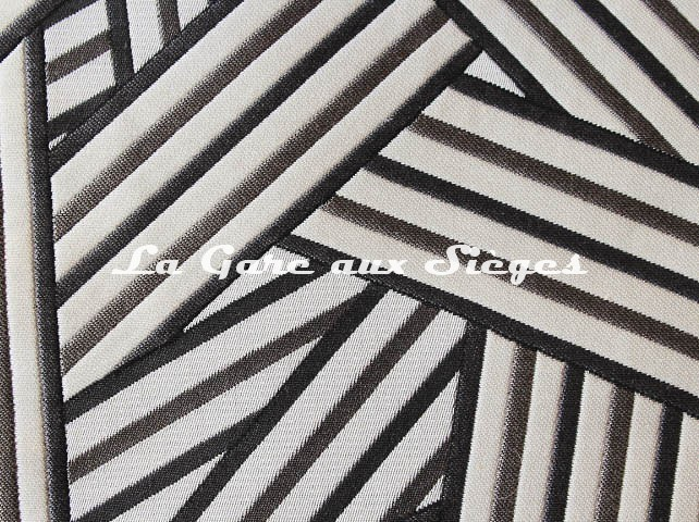 Tissu Dedar - Short Cuts - réf: T15009.002 Silver ( détail ) - Voir en grand