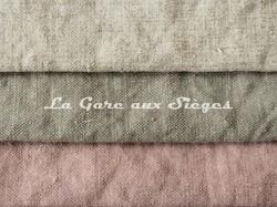 Tissu Boussac - Candy - réf: O7940 - Coloris: 001 Craie - 002 Opaline - 003 Eglantine - Voir en grand