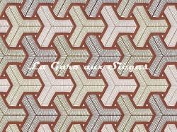 Tissu Camengo - Baléares - réf: 4171.0457 Terracotta - Voir en grand
