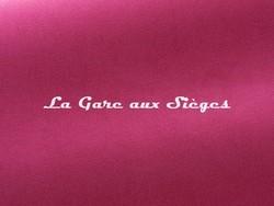 Tissu Pierre Frey - Gaspard - réf: F3070.028 Fuchsia - Voir en grand
