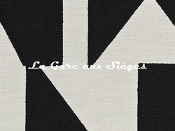 Tissu Pierre Frey - Wokabi - réf: F3355.002 Noir ( détail ) - Voir en grand