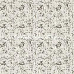 Papier peint Zoffany - Pulu - réf: 311721 Charcoal/Parchment - Voir en grand
