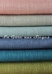 Tissu Casal - Zapata - réf: 83985 - Coloris: 91 - 30 - 10 - 14 - 12 - 32 - Voir en grand