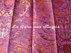 Tissu Tassinari & Châtel - Cernuschi - réf: 1655.03 Pourpre - Voir en grand