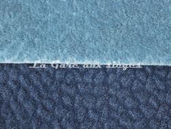 Tissu Chanée Ducrocq - Comtesse - Coloris: 2556 Glacier - 2546 Ardoise - Voir en grand