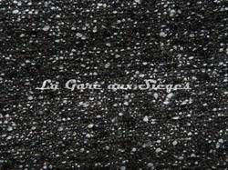 Tissu Pierre Frey - Nuit & Jour - réf: F3000-001 Noir & Blanc - Voir en grand