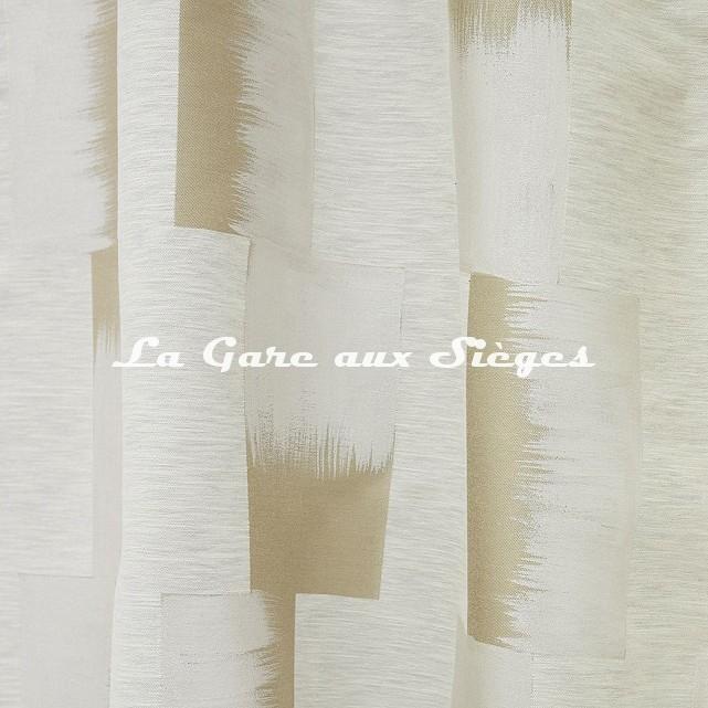 Tissu Lelièvre - Lhassa - réf: 628.03 Nacre - Voir en grand