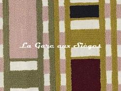 Tissu Pierre Frey - Limpopo - réf: F3357.001 Pistache ( détail ) - Voir en grand