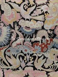 Tissu Tassinari & Châtel - Les Chimères - réf: 1670.01 ( raccord ) - Voir en grand