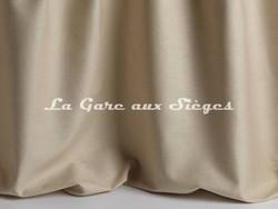 Tissu Pierre Frey - Soie Anouk - réf: F3277-02 Sable - Voir en grand