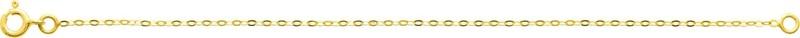 Chaine forçat miroir or jaune 18 carats -  BIJOUX OR 18 Carats - Bijouterie Horlogerie Lechine - Voir en grand