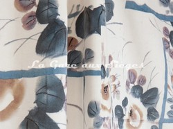 Tissu Jean Paul Gaultier - Babouchka - réf: 3469-04 Bleu - Voir en grand