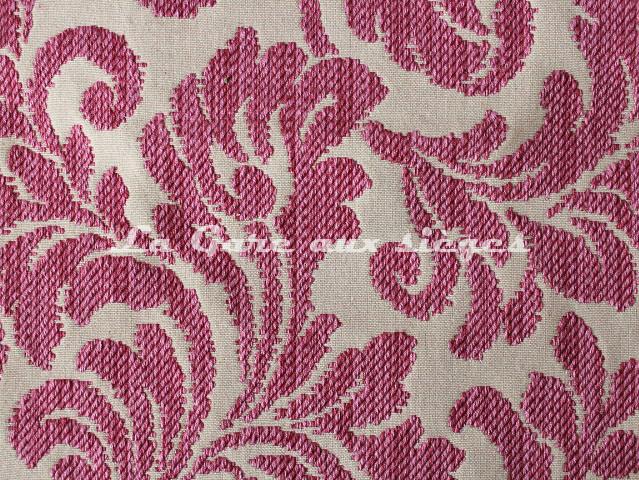 Tissu Chanée Ducrocq - Tatiana - Coloris: 7825 Framboise - Voir en grand