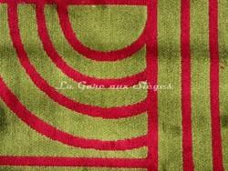 Tissu Gaston y Daniela - réf: 5215 - Coloris: 005 Verde/Frambuesa - Voir en grand