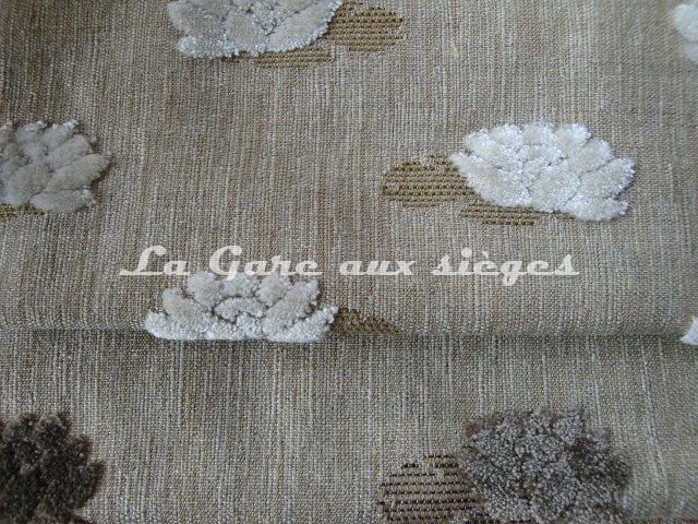Tissu Jéro - Mascotte - réf: 9508 - Coloris: 1739 Mouette & 1740 Ourson - Voir en grand