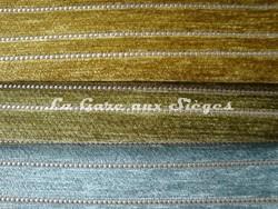 Tissu Osborne & Little - Canaletto - réf: F6142 - Coloris: 08 Chartreuse - 09 Pistachio - 10 Aqua - Voir en grand