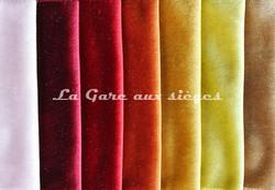 Tissu Carlucci - Palazzo velvet - réf: CA1175 - Coloris: 060-011-010-061-040-030-074 - Voir en grand