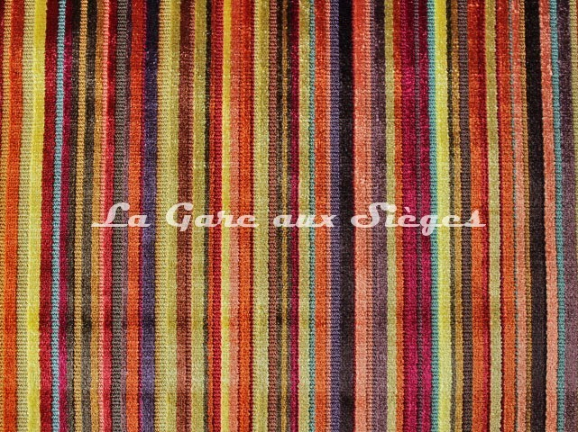 Tissu Casal - Beaugency - réf: 12645-45 Multi orange - Voir en grand