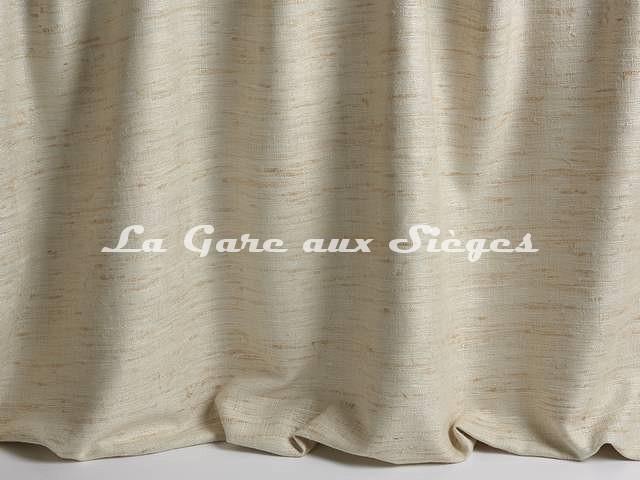Tissu Pierre Frey - Soie Celestine - réf: F3285-001 Crème - Voir en grand