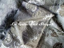Tissu Rubelli - Tricorno - réf: 30053.002 Argento - Voir en grand