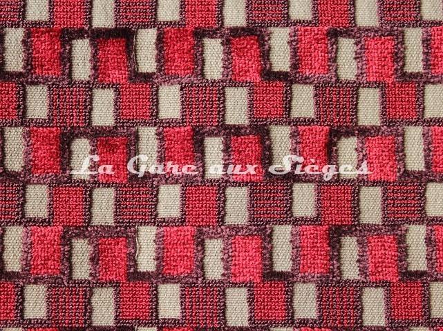 Tissu Casal - Sparte - réf: 12702 - Coloris: 75 Grenat - Voir en grand