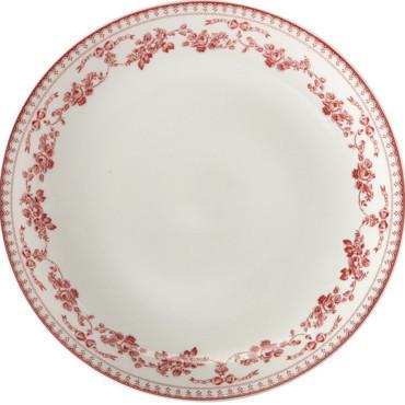 Service de table faustine rouge maison and deco - Table basse comptoir de famille ...