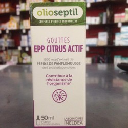 OLIOSEPTIL Epp Citrus Actif  - Les produits de la gamme Olioseptil - Pharmacie POUEY - Voir en grand
