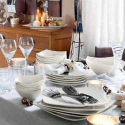 VAISSELLE TABLE PASSION - ART DE LA TABLE - MAISON and DECO - Voir en grand