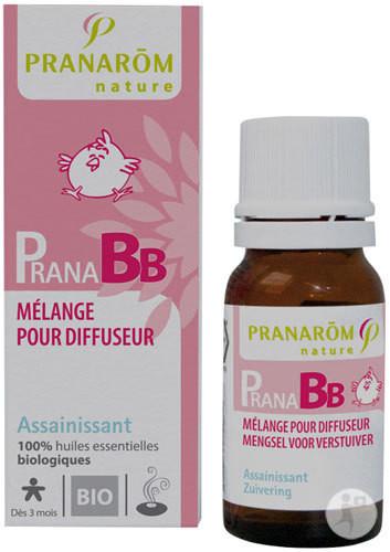PranaBB assainissant, mélanges pour diffuseur - Aromathérapie pour bébé - Pharmacie POUEY - Voir en grand