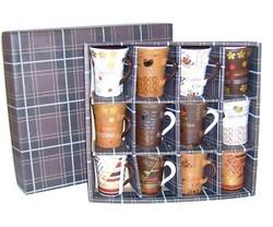 coffret 12 tasses à café - Voir en grand