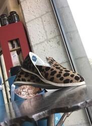 chausson les silencieuses en cuir 100% charentais  - Chaussures  - Pharmacie POUEY - Voir en grand