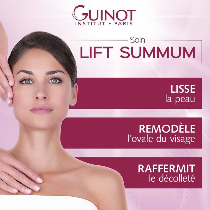 Soin LIFT SUMMUM - SOIN VISAGE - MARINE Institut SPA - Voir en grand