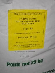 farine de blé bio t80 - farines - MINOTERIE DOM - Voir en grand