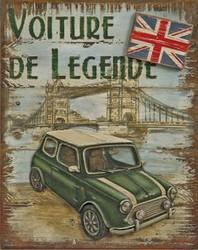 Tableau relief mini austin voiture de légende EJPF - Country Corner - Antan et Néo.jpg - Voir en grand