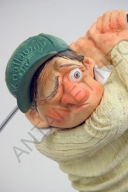 Le Golfeur PM 2 - Figurine Forchino - Antan et Néo.jpg - Voir en grand