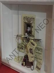 Tableau Vitrine 3D CAVE - Antan et Néo - Voir en grand