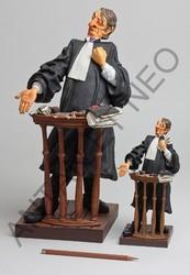 L'avocat de Forchino - Figurine humoristique résine - Antan et Néo