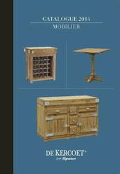 Catalogue De Kercoet 2014 - Selection Mobilier et Décoration 2018 - ANTAN ET NEO