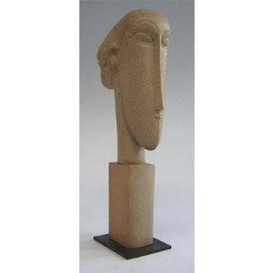 Modigliani - Tête de Femme - MO01 ET MO06 - Antan et Néo.jpg - Voir en grand