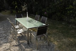 Table repas et réunion - Mobilier de jardin - BROCH HABITAT - Voir en grand