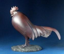 """Figurine Pompon """"Coq dormant"""" GM 20 CM - FIGURINE DE COLLECTION ET PIECES DE MUSEE - ANTAN ET NEO - Voir en grand"""