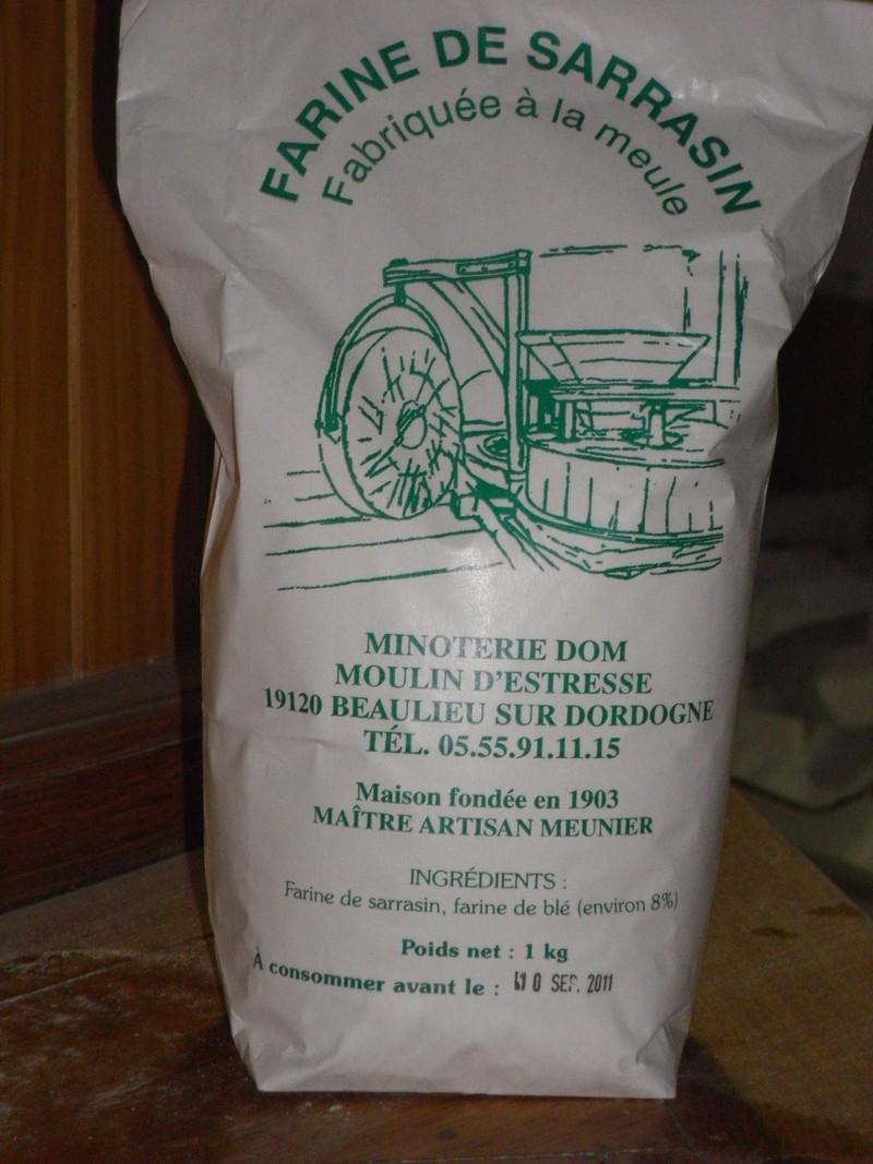 farine de sarrasin à la meule - farines - MINOTERIE DOM - Voir en grand